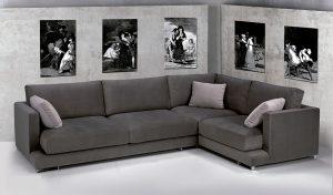 Sofá tapizado Cuore