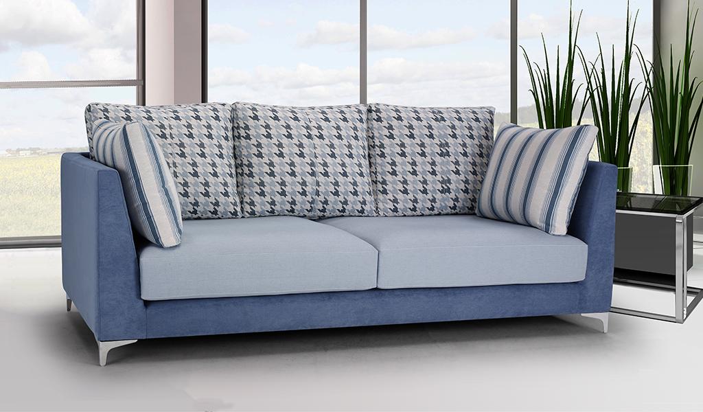 Sofá tapizado Indi, 2