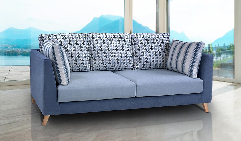 Sofá tapizado Indi