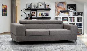 Sofá tapizado Line, 2