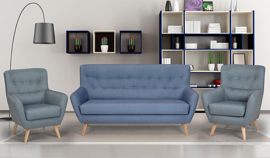 Sofá tapizado North, 2