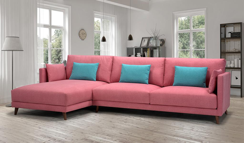 sofá tapizado Pink