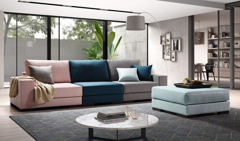 sofá tapizado Puzzle, 1