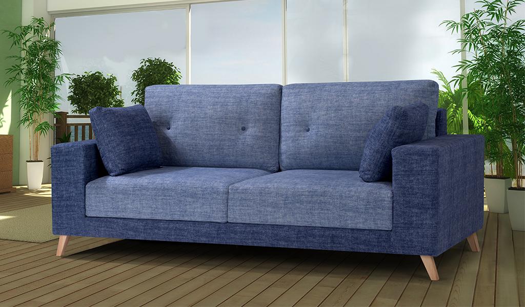 Sofá tapizado Start, 2